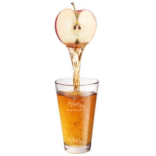 لیوان آب سیب