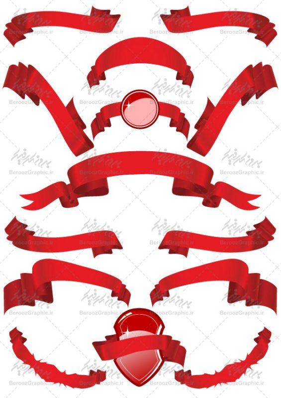وکتور روبان قرمز