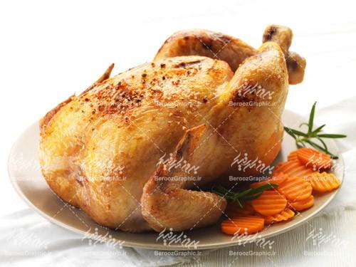 تصویر باکیفیت چلو مرغ